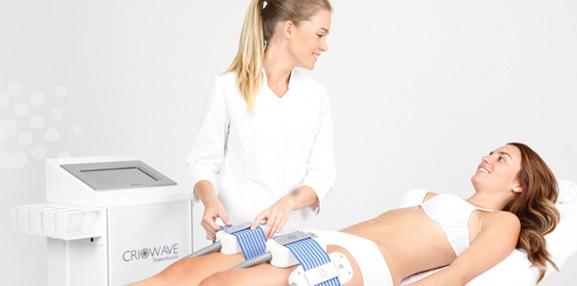 Criowave para reducir la grasa no deseada y la celulitis