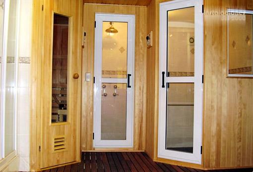 baño sauna spa