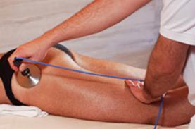 Tecarterapia en piernas