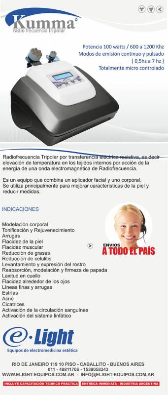 Radiofrecuencia Tripolar