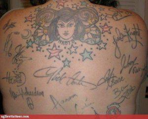 Error pigmento tatuaje