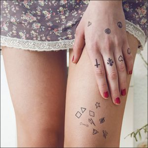 micro tattoo - tiny - mini