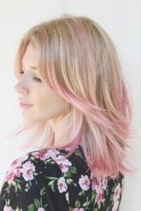 teñirse de rosa